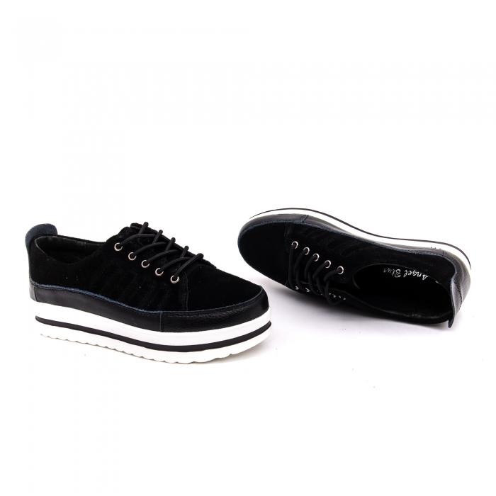 Pantof sport dama -cod VK-F001-447 black 2