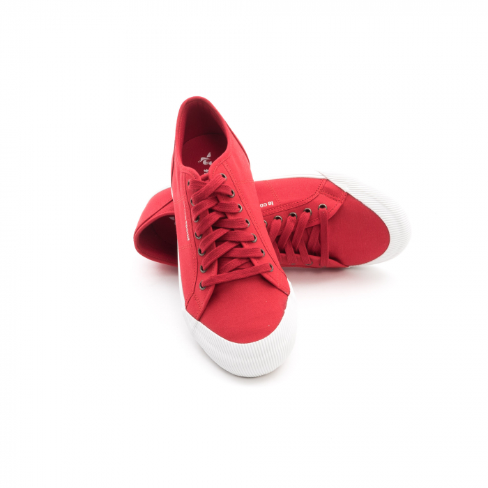 Pantofi sport unisex Le Coq Sportif 1820070 deauville sport, rosu 3