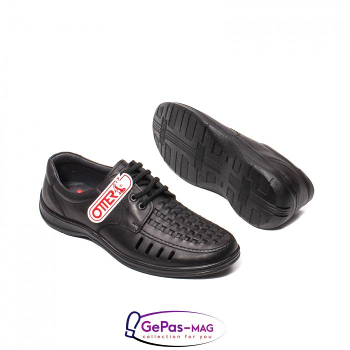 Pantofi barbat, piele naturala, OT149 01-N 5