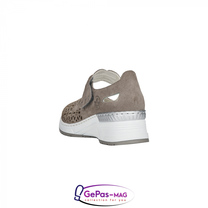 Pantofi vara dama, piele naturala de antilopa, N4367-42 [4]