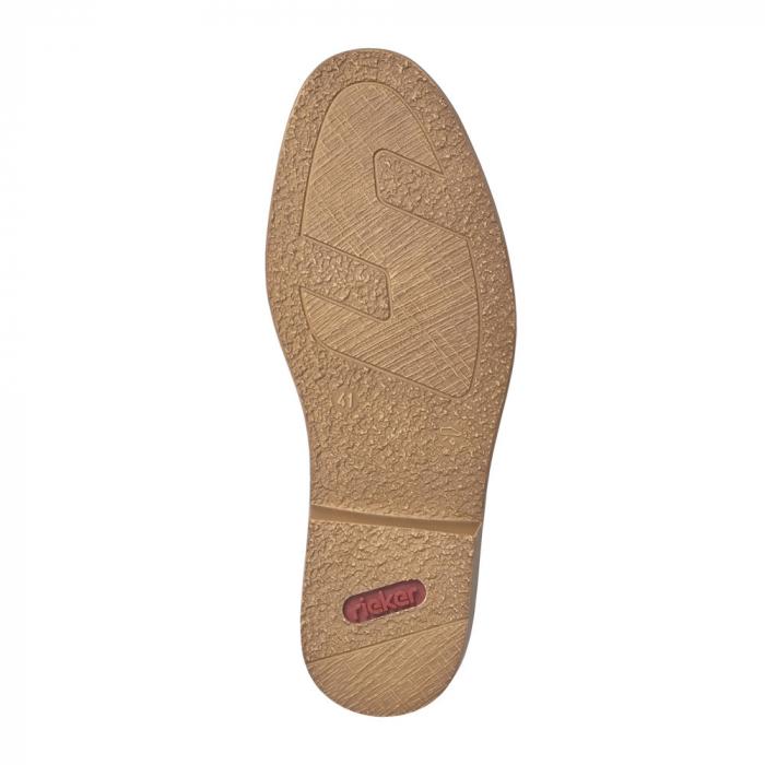 Pantofi barbati din piele naturala Rieker 13417-24, maro 6