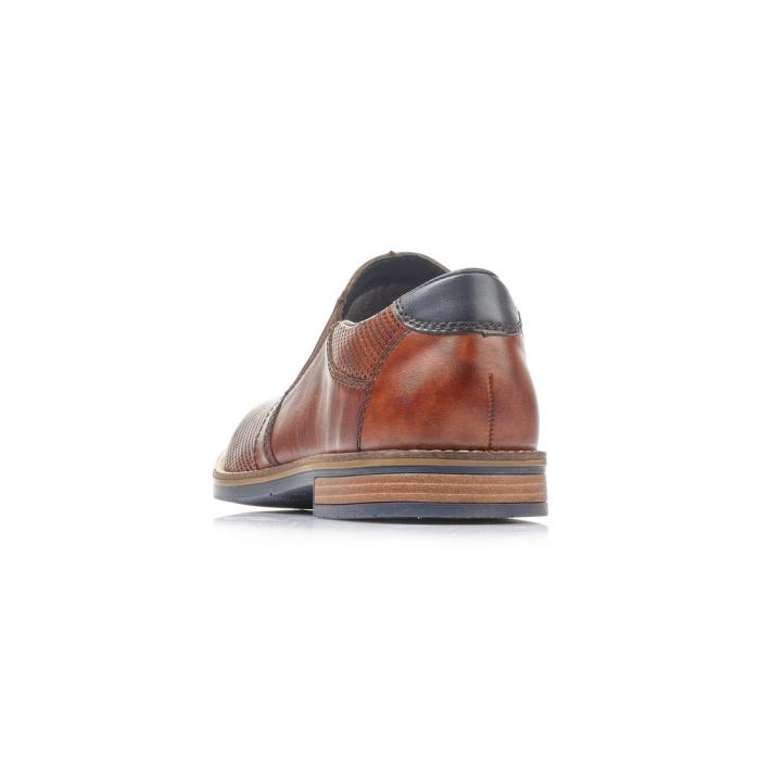 Pantofi barbati de vara, rieker 13571-24, coniac 1