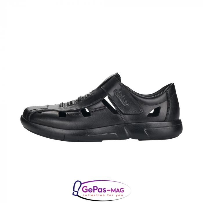 Sandale barbati, piele naturala, B2783-00 5