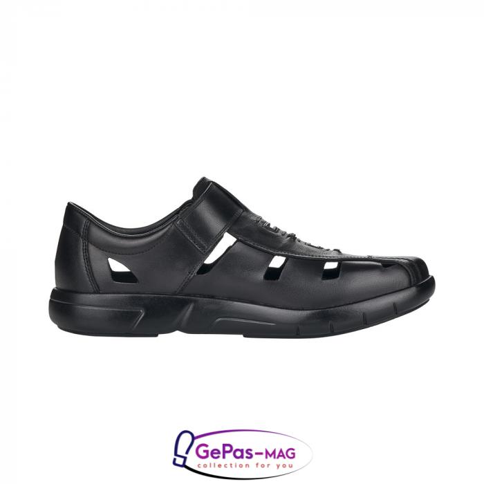 Sandale barbati, piele naturala, B2783-00 6