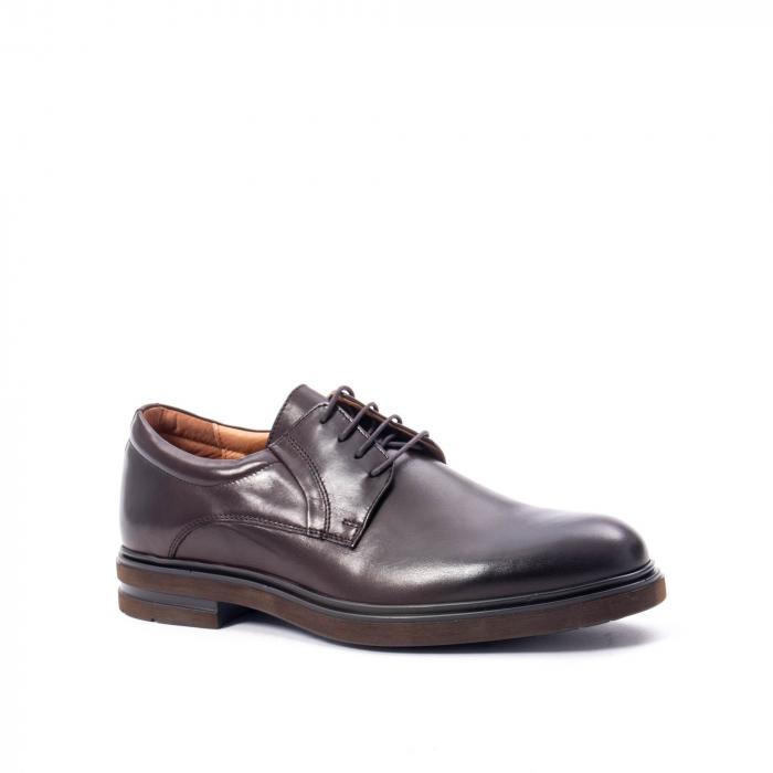 Pantofi barbat din piele naturala  998 mogano 0