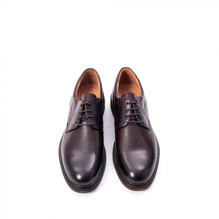 Pantofi barbat din piele naturala  998 mogano 5