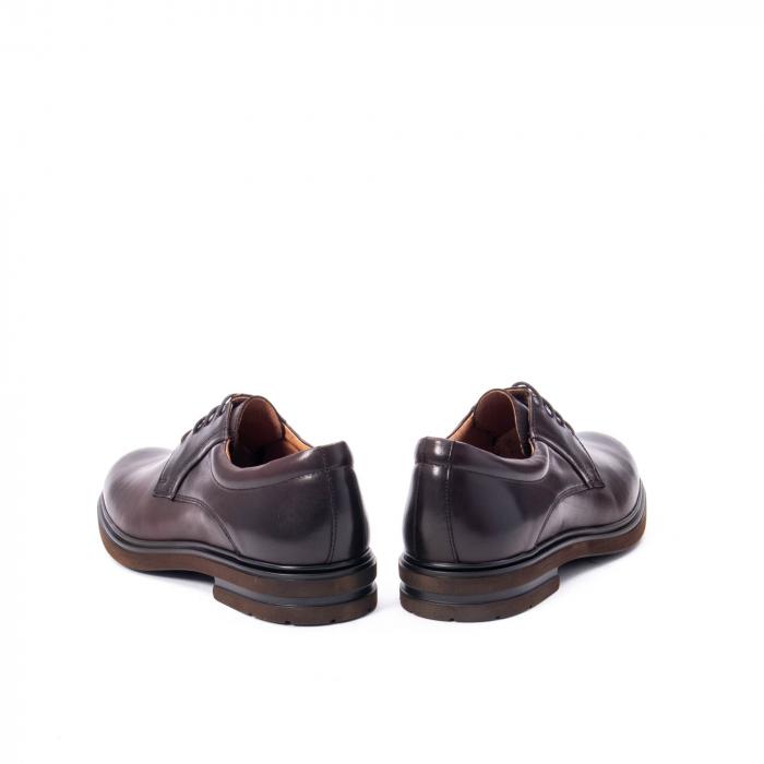 Pantofi barbat din piele naturala  998 mogano 6