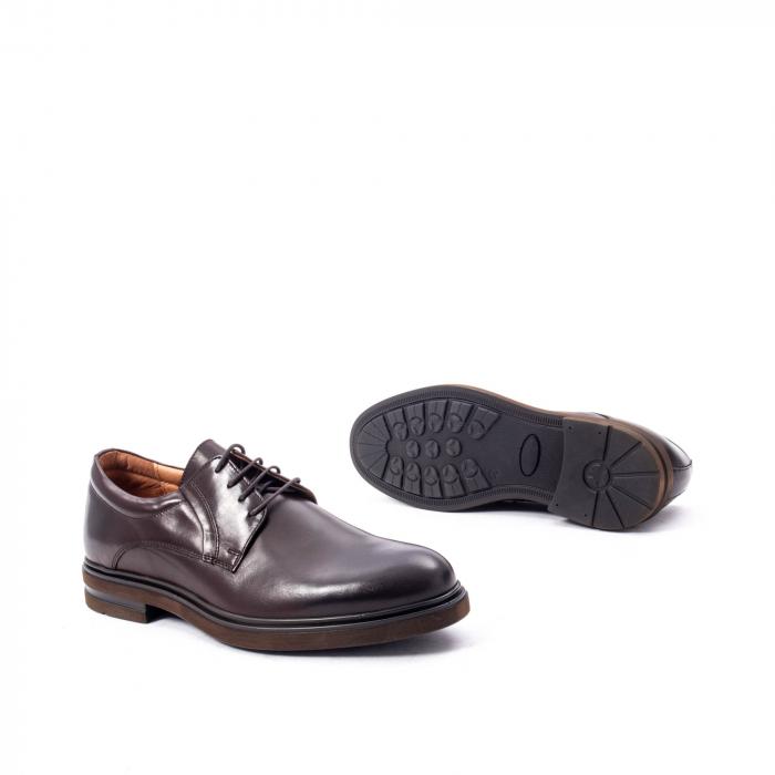 Pantofi barbat din piele naturala  998 mogano 3