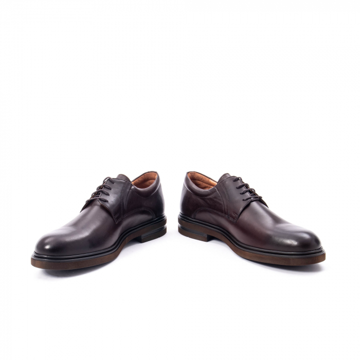 Pantofi barbat din piele naturala  998 mogano 4