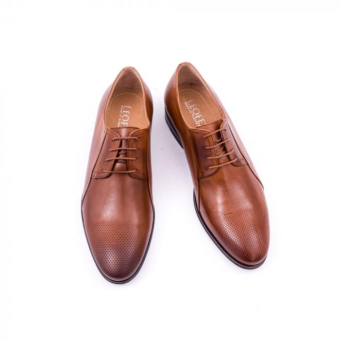 Pantofi barbat LFX 743 coniac 4