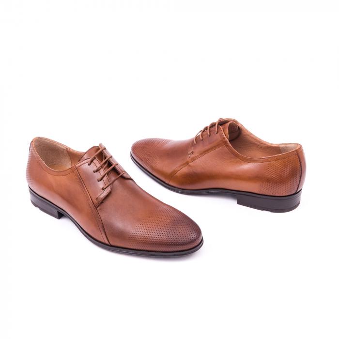 Pantofi barbat LFX 743 coniac 2