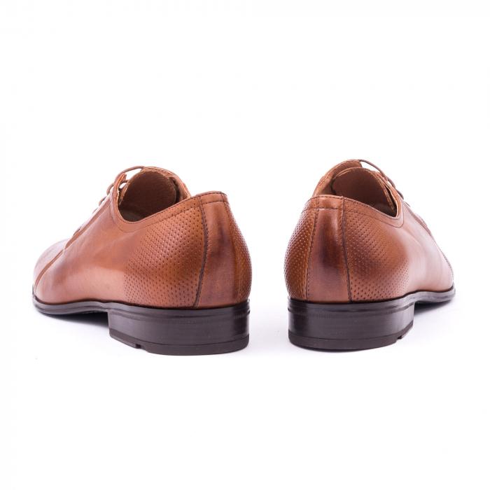 Pantofi barbat LFX 743 coniac 5