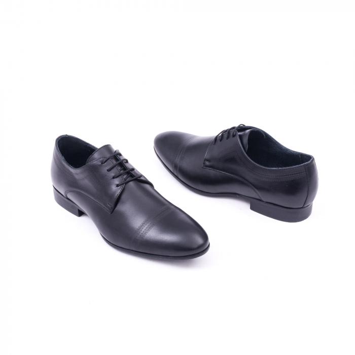 Pantofi barbati eleganti, piele naturala, LFX 896 negru [2]