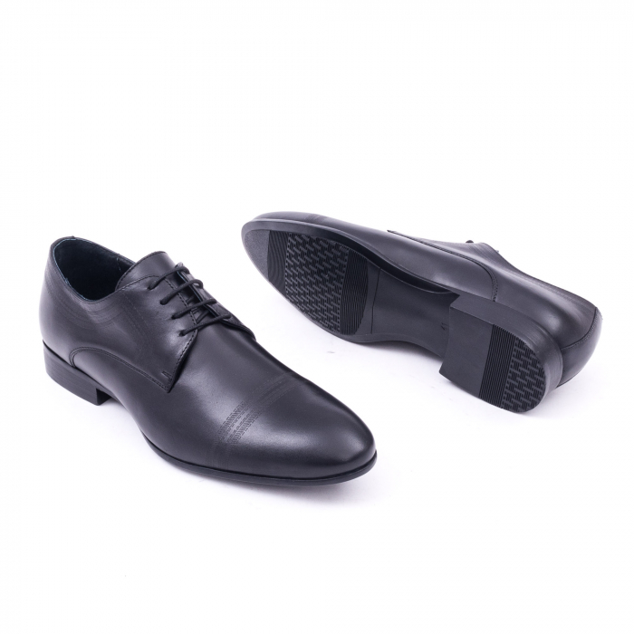 Pantofi barbati eleganti, piele naturala, LFX 896 negru [3]