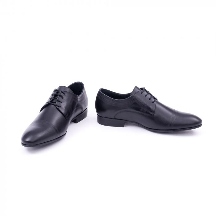 Pantofi barbati eleganti, piele naturala, LFX 896 negru [4]