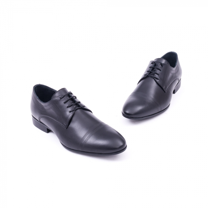 Pantofi barbati eleganti, piele naturala, LFX 896 negru [1]