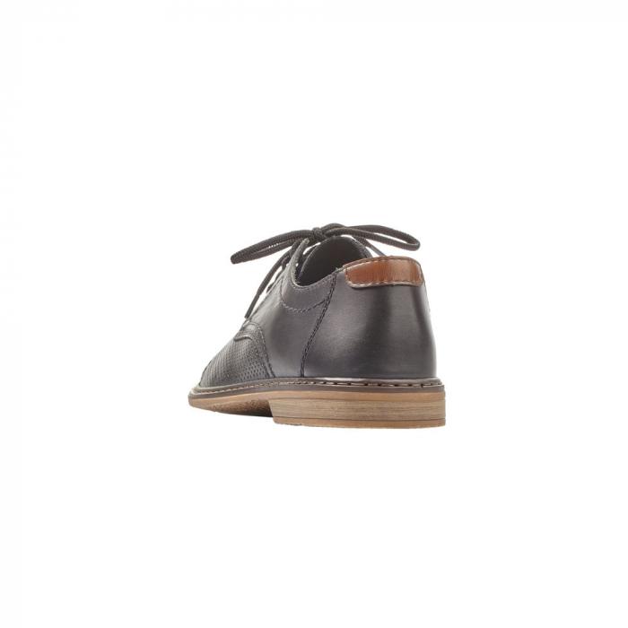 Pantofi barbati casual din piele naturala Rieker 13427-00 3