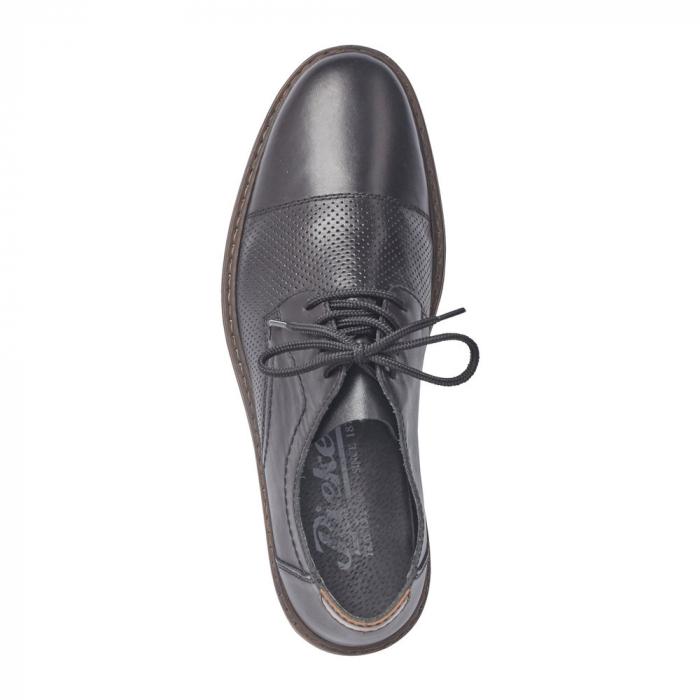 Pantofi barbati casual din piele naturala Rieker 13427-00 2