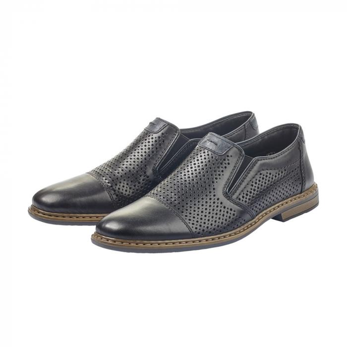 Pantofi barbati casual din piele naturala 13496-01 2