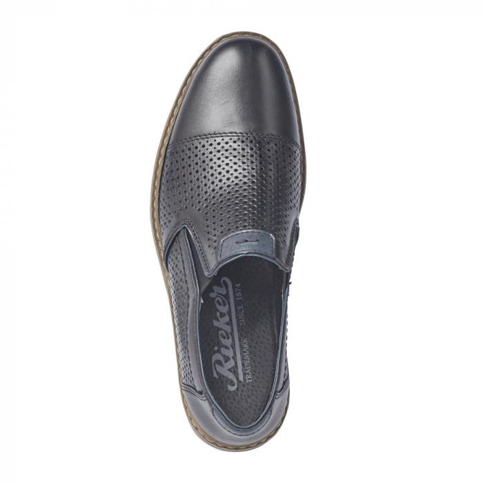 Pantofi barbati casual din piele naturala 13496-01 5