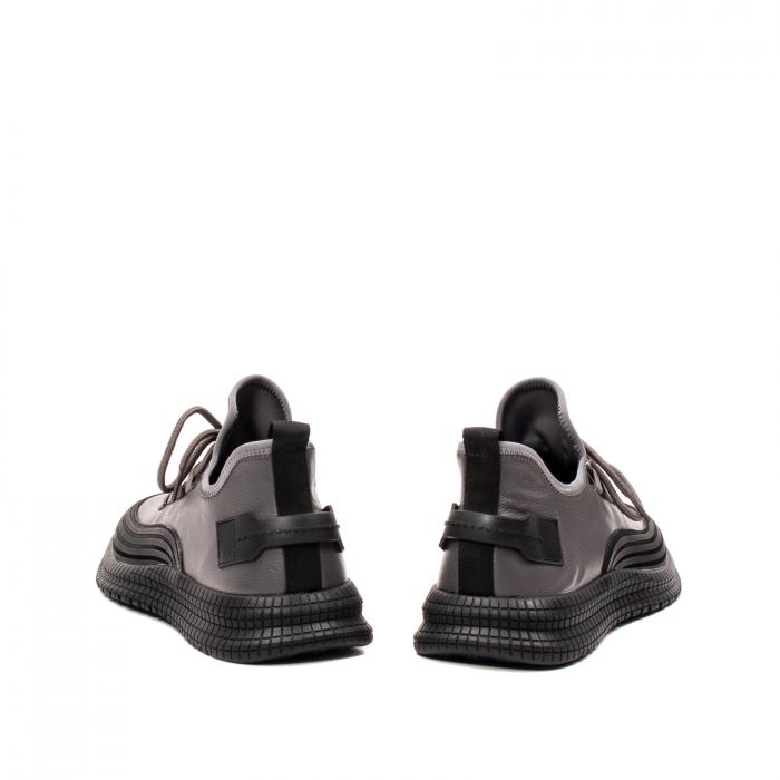 Pantofi barbati casual, piele naturala, E6YD96561 G 6