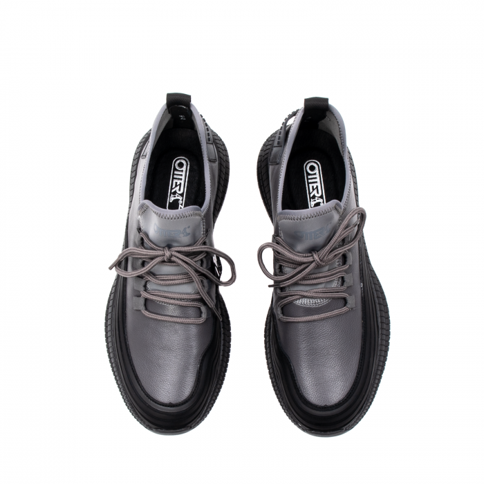 Pantofi barbati casual, piele naturala, E6YD96561 G 5