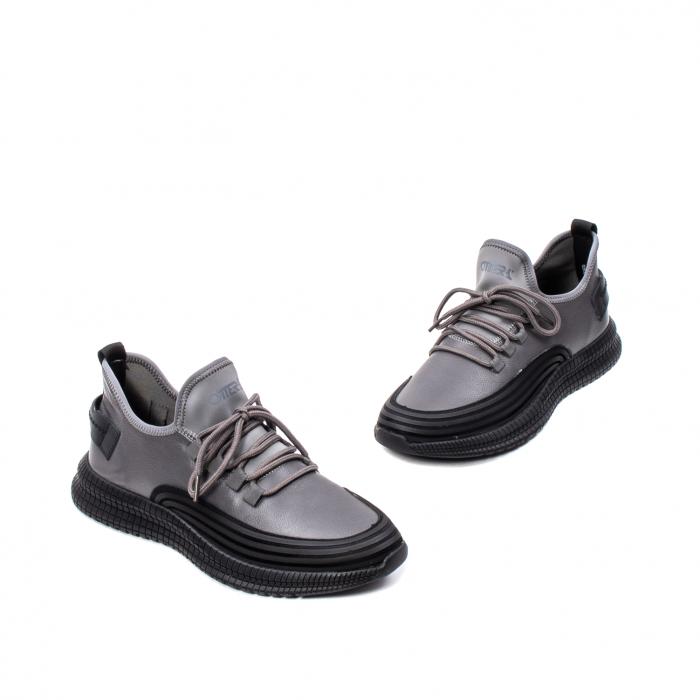 Pantofi barbati casual, piele naturala, E6YD96561 G 1