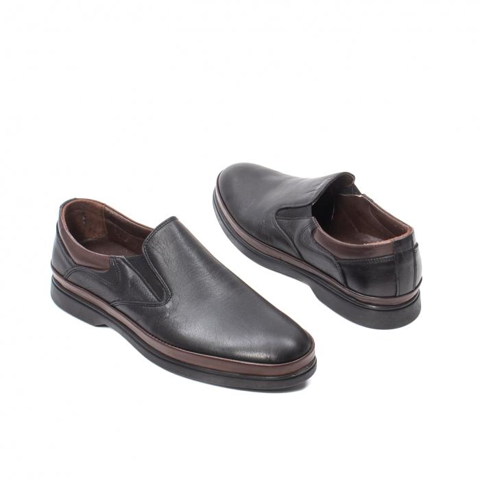 Pantofi barbati casual, piele naturala, KKM5724 2