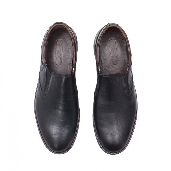 Pantofi barbati casual, piele naturala, KKM5724 5
