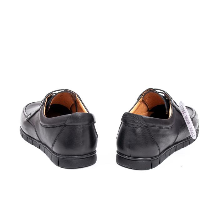 Pantofi barbati casual piele naturala Otter 20915 01-N, negru 6