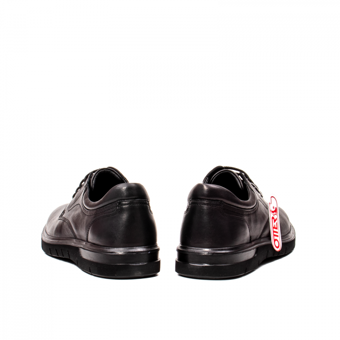 Pantofi barbati casual, piele naturala Otter 2804, negru 6