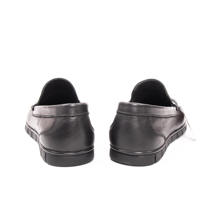 Pantofi barbati casual piele naturala Otter 3206 negru 4