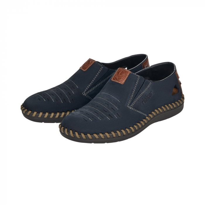 Pantofi casual barbati din piele naturala, B2457-14 4