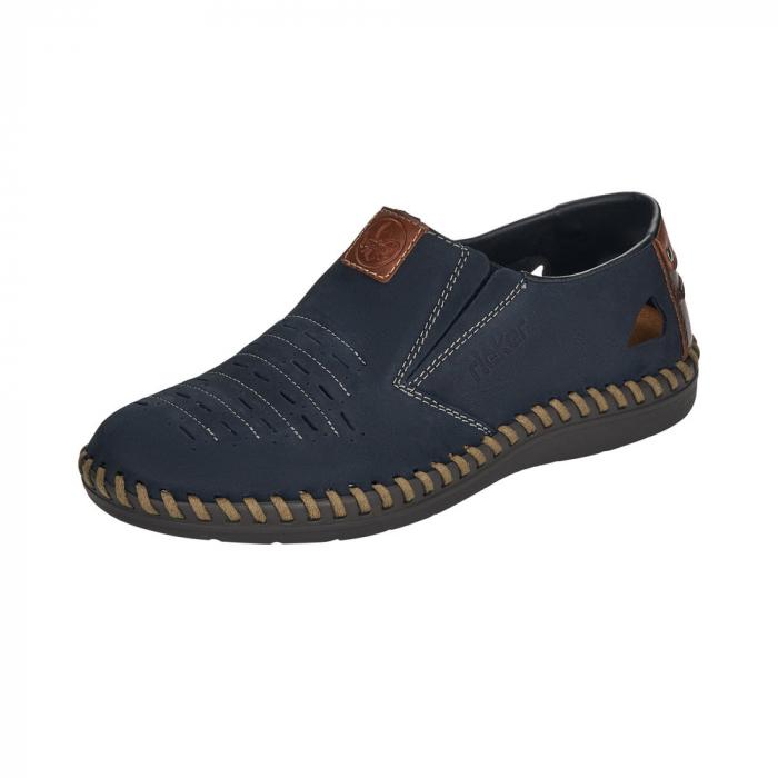 Pantofi casual barbati din piele naturala, B2457-14 0
