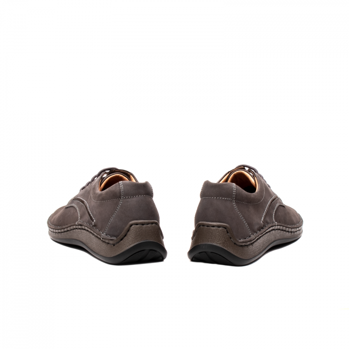 Pantofi  barbati casual, piele naturala nubuc, LFX 918 G 6