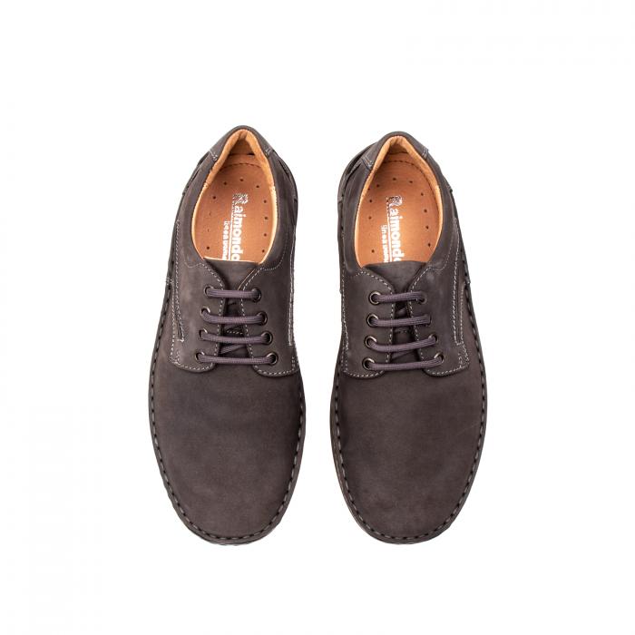 Pantofi  barbati casual, piele naturala nubuc, LFX 918 G 5