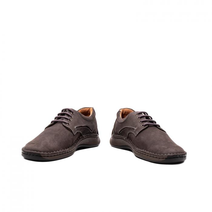 Pantofi  barbati casual, piele naturala nubuc, LFX 918 G 4