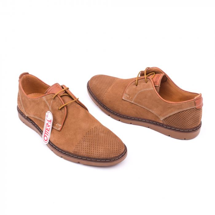 Pantofi casual barbat OT 5925-1 coniac 3