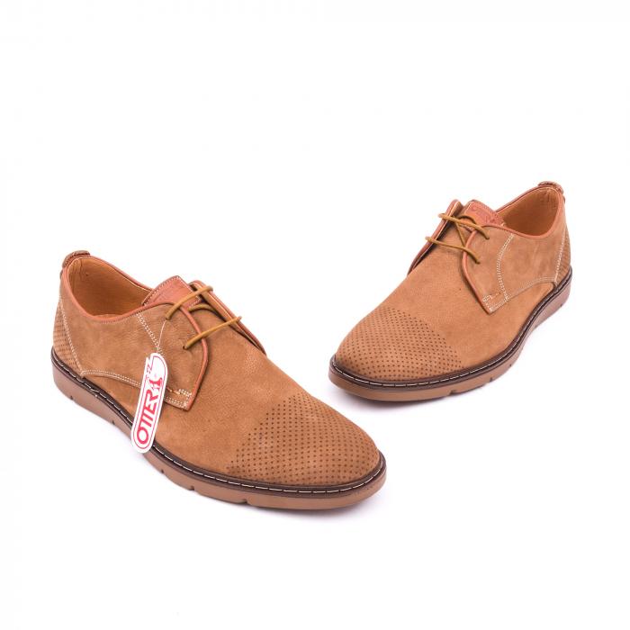 Pantofi casual barbat OT 5925-1 coniac 1