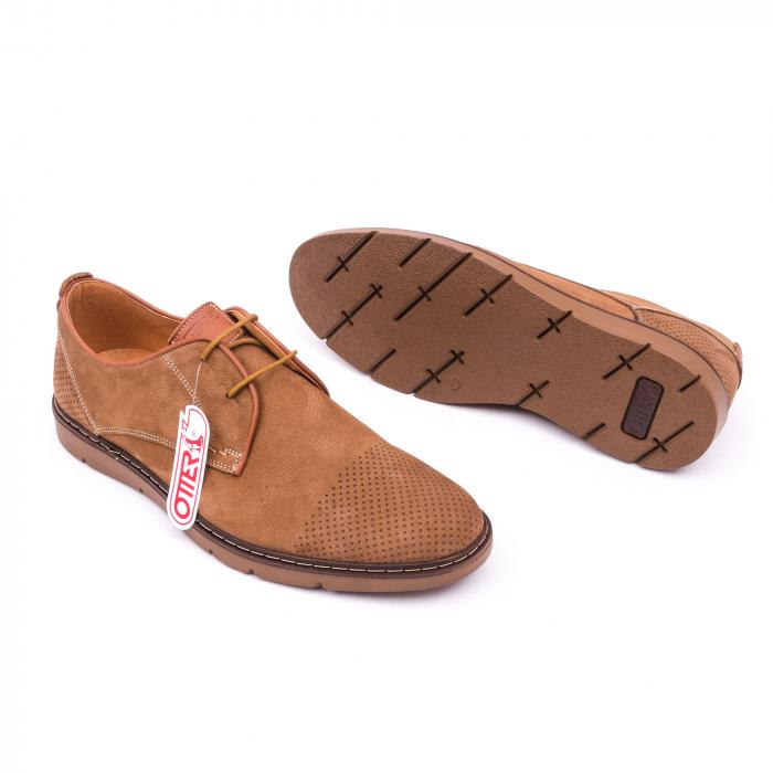 Pantofi casual barbat OT 5925-1 coniac 2