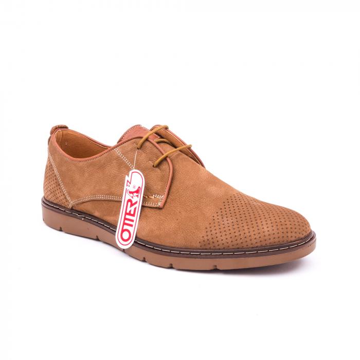 Pantofi casual barbat OT 5925-1 coniac 0
