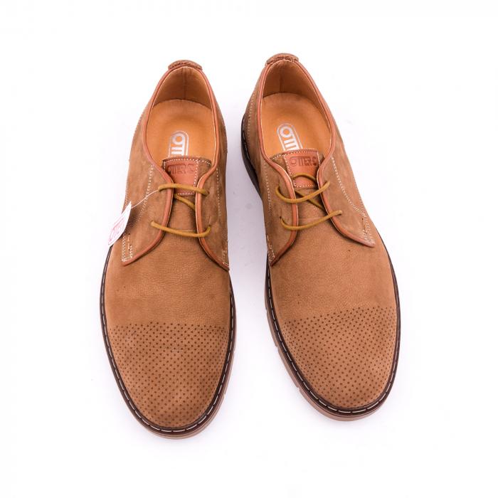 Pantofi casual barbat OT 5925-1 coniac 4