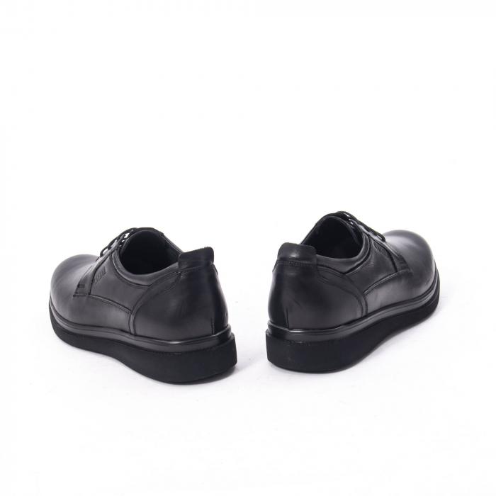 Pantofi casual barbat,piele naturala Catali 172568,negru 6