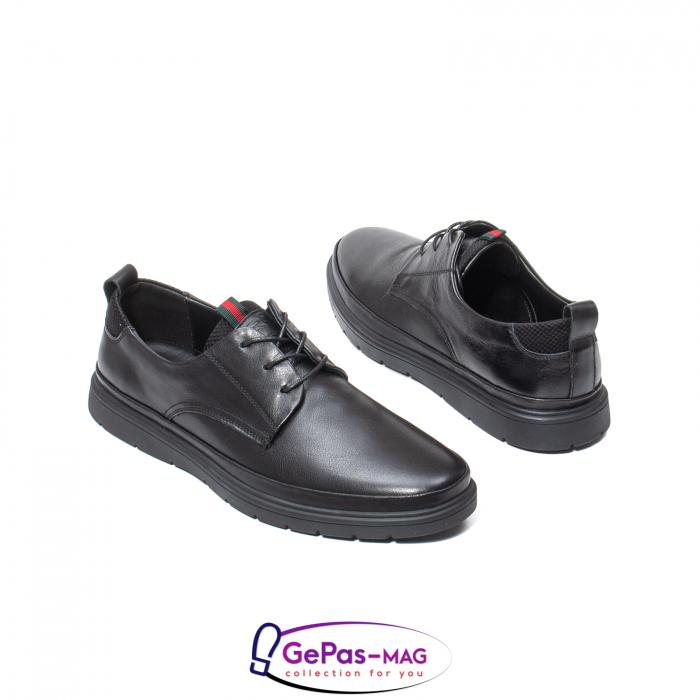 Pantofi casual barbat, piele naturala, L151537 2