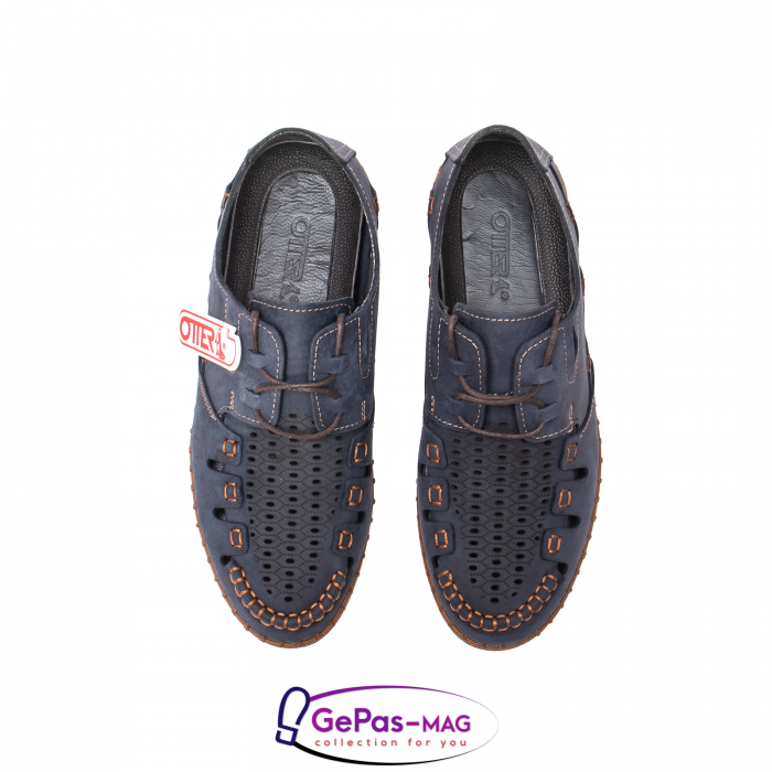 Pantofi casual barbat, piele naturala nubuc, OJ2911-133 42-2 5