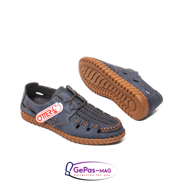 Pantofi casual barbat, piele naturala nubuc, OJ2911-133 42-2 3