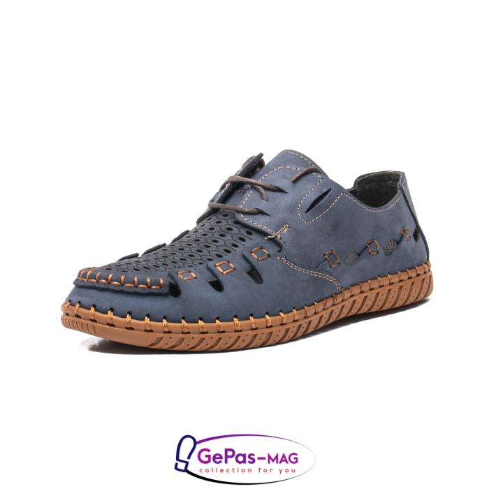 Pantofi casual barbat, piele naturala nubuc, OJ2911-133 42-2 0