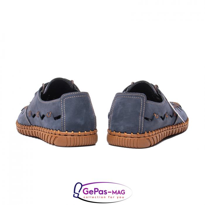 Pantofi casual barbat, piele naturala nubuc, OJ2911-133 42-2 6