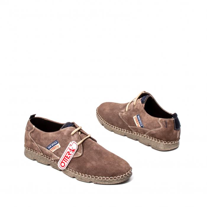 Pantofi barbat casual, piele naturala, OT 2818 14-I 2