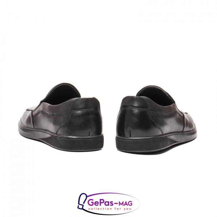 Pantofi barbati mocasin, piele naturala, QRB017313 [2]
